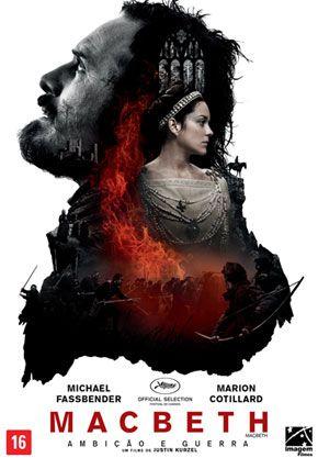 Capa do filme 'Macbeth: Ambição e Guerra'