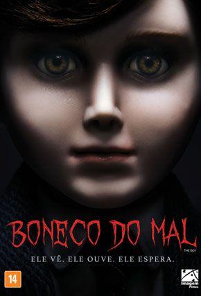 Capa do filme 'Boneco do Mal'