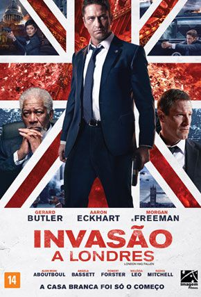 Capa do filme 'Invasão à Londres'