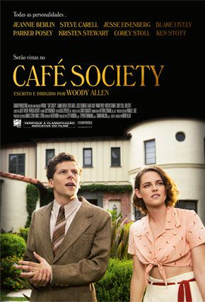 Capa do filme 'Café Society'
