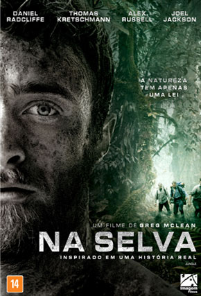 Capa do filme 'Na Selva'