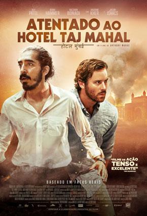 Capa do filme 'Atentado ao Hotel Taj Mahal'