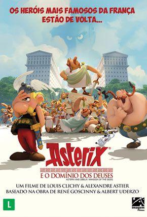 Capa do filme 'Asterix e o Domínio dos Deuses'