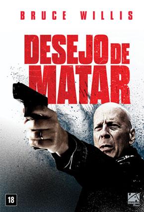 Capa do filme 'Desejo de Matar'