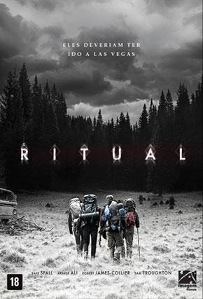 Capa do filme 'O Ritual'