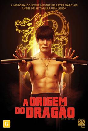 Capa do filme 'A Origem do Dragão'