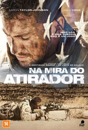 Capa do filme 'Na Mira do Atirador'