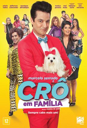 Capa do filme 'Crô em Família'