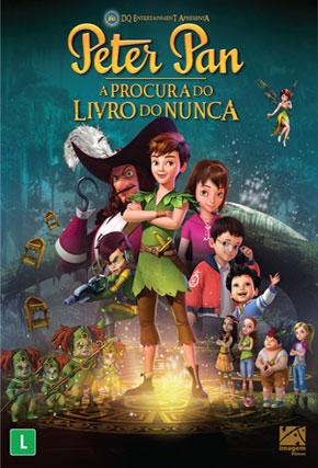 Capa do filme 'Peter Pan - À Procura do Livro do Nunca'