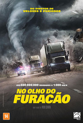 Capa do filme 'No Olho do Furacão'