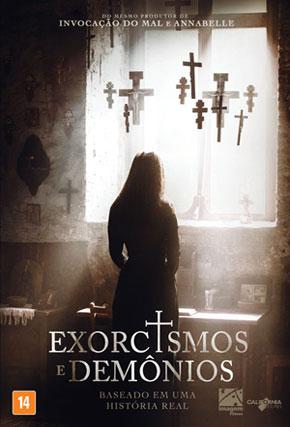 Capa do filme 'Exorcismos e Demônios'