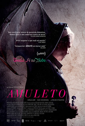 Capa do filme 'Amuleto'