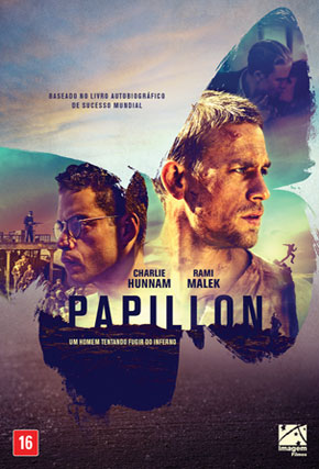 Capa do filme 'Papillon'