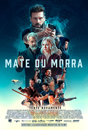 Capa do filme 'Mate ou Morra'