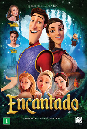 Capa do filme 'Encantado'