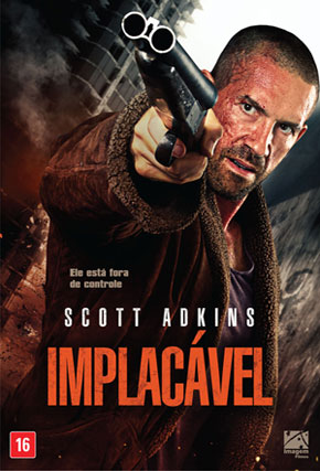 Capa do filme 'Implacável'
