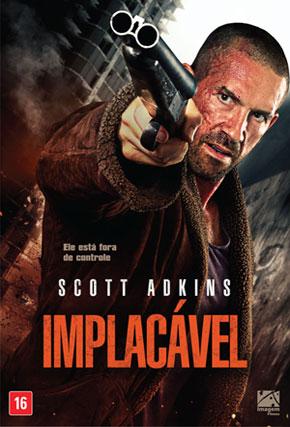 Capa do filme 'Implacável'