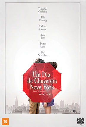 Capa do filme 'A Rainy Day in New York'