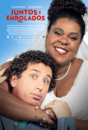 Capa do filme 'Juntos e Enrolados'