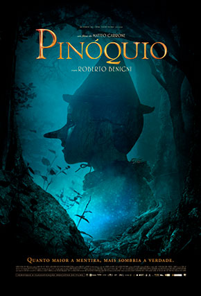 Capa do filme 'Pinóquio'