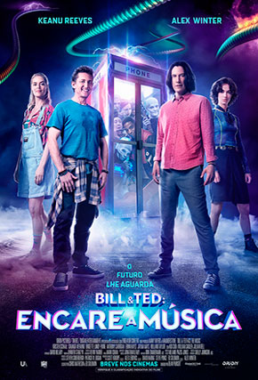 Capa do filme 'Bill & Ted: Encare a Música'