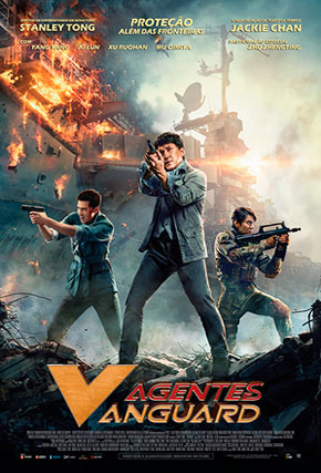Capa do filme 'Agentes Vanguard'