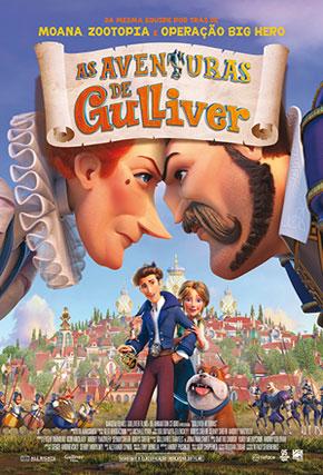 Capa do filme 'As Aventuras de Gulliver'